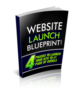 Website Launch Blueprint Cover