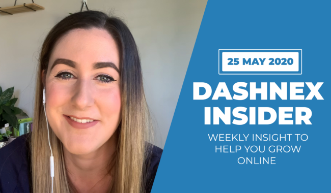 Weekly Dashnex Insider